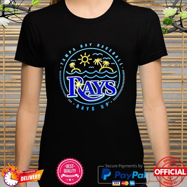 Tampa bay rays sunshine hometown rays up shirt