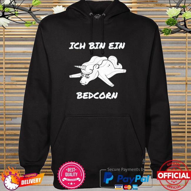 Unicon ich bin ein bedcorn hoodie