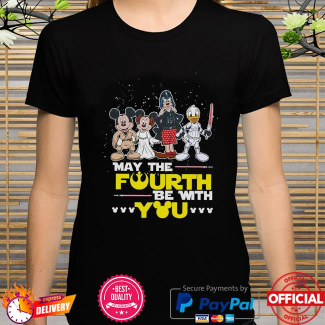 Disney Darth Vader May the Fourth be with you shirt