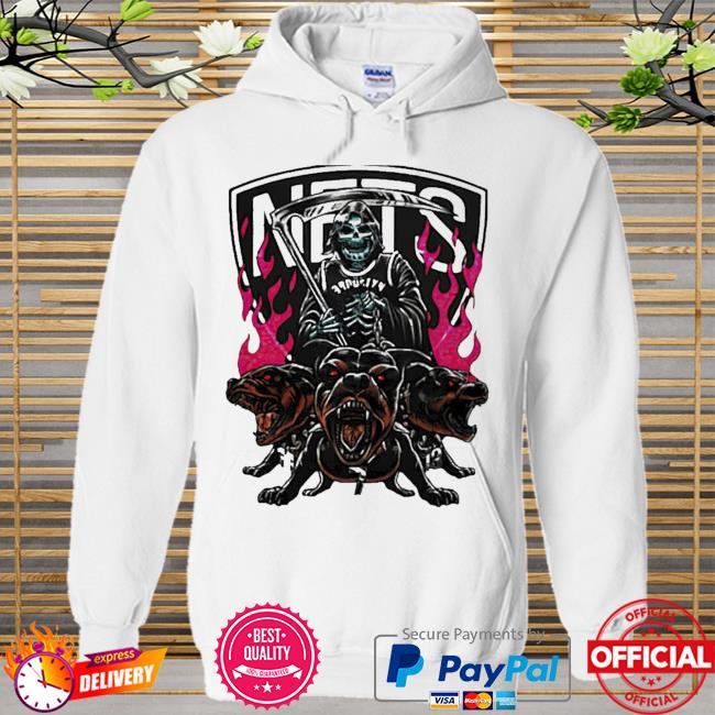 Kevin Durant Dead Ride Cerberus Brooklyn Nets Shirt Hoodie white