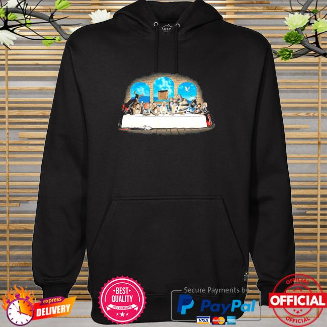 Official Holy grail dinner monty python hoodie