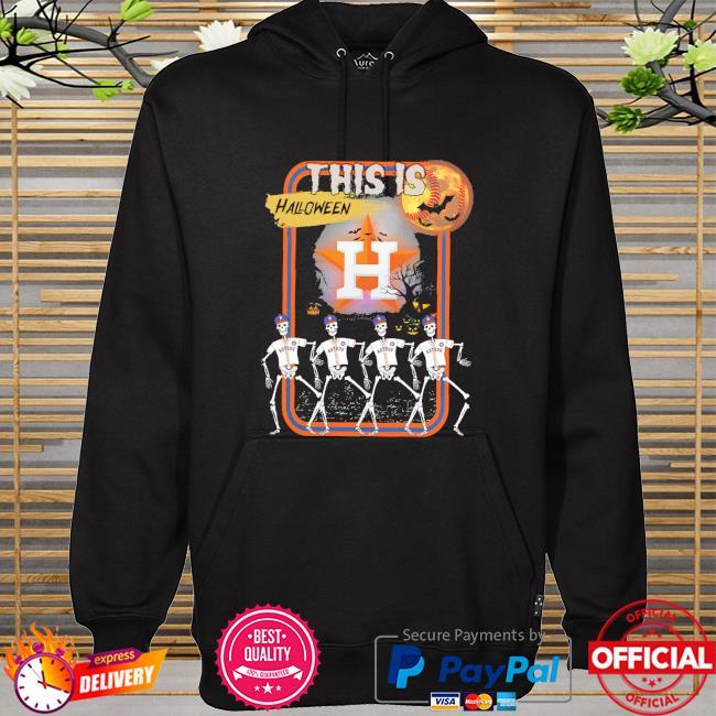 Skeleton Houston Astros this is Halloween hoodie