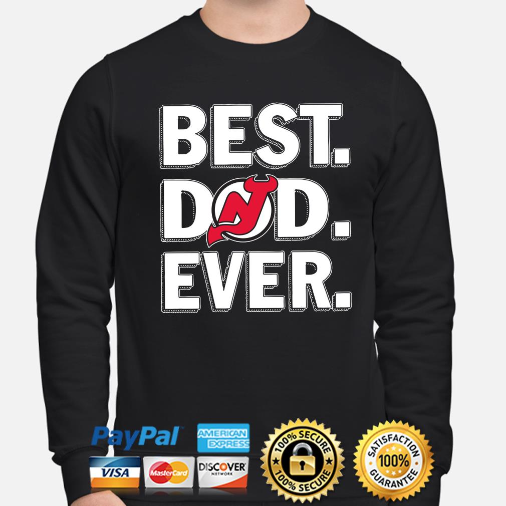 New Jersey Devils Best Dad Ever s sweater