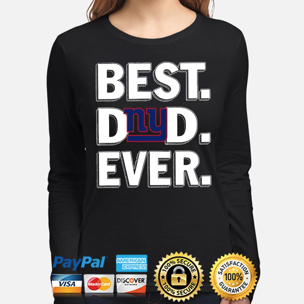 New York Giants Best Dad Ever s long-sleeve