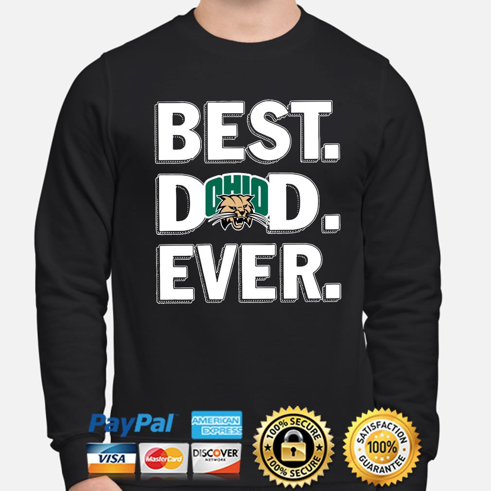 Ohio Bobcats Best Dad Ever s sweater