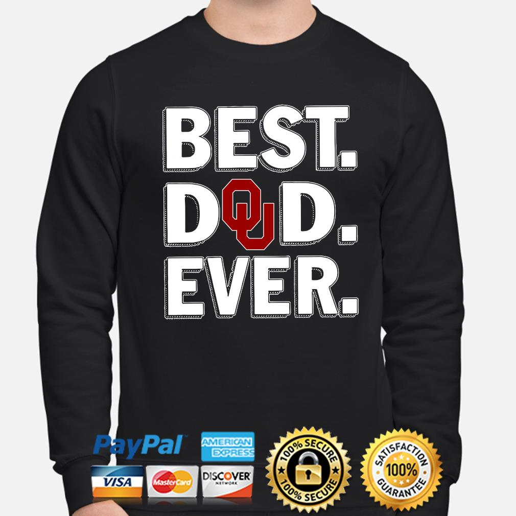 Oklahoma Sooners Best Dad Ever s sweater