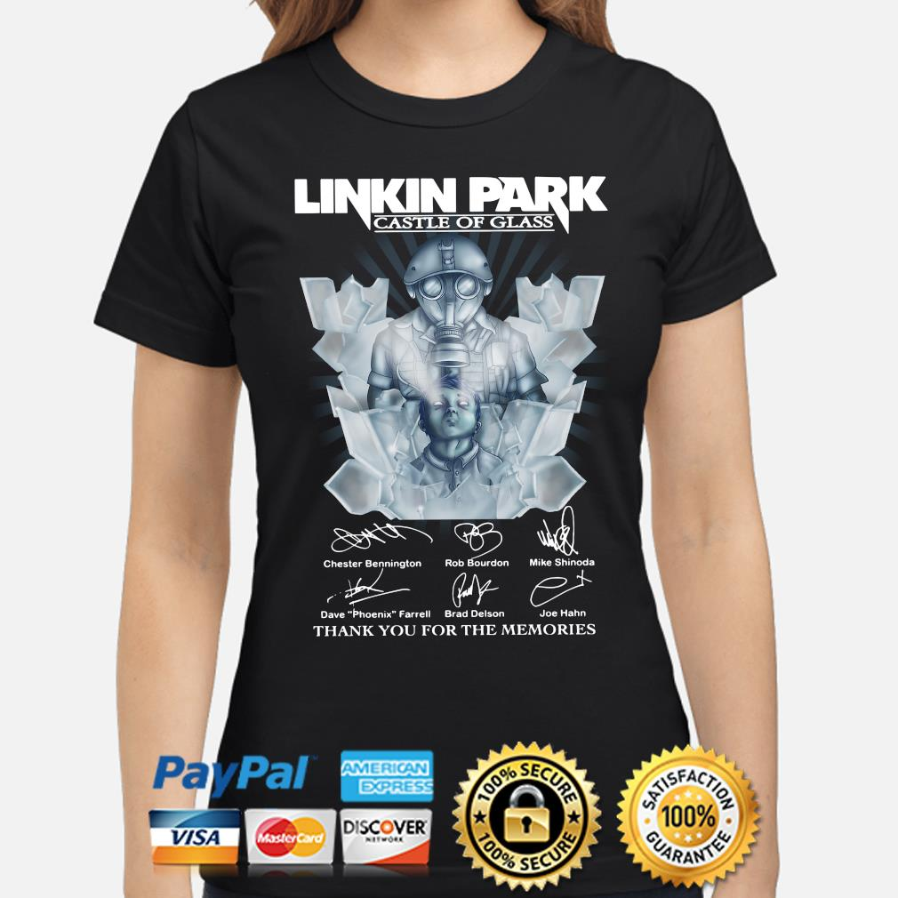 Linkin Park Castle of Class Thank you for the memories s ladies-shirt