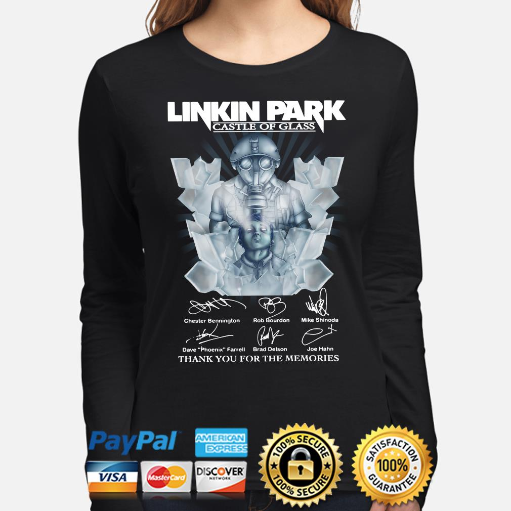 Linkin Park Castle of Class Thank you for the memories s long-sleeve
