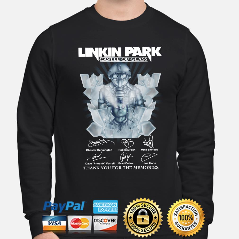 Linkin Park Castle of Class Thank you for the memories s sweater