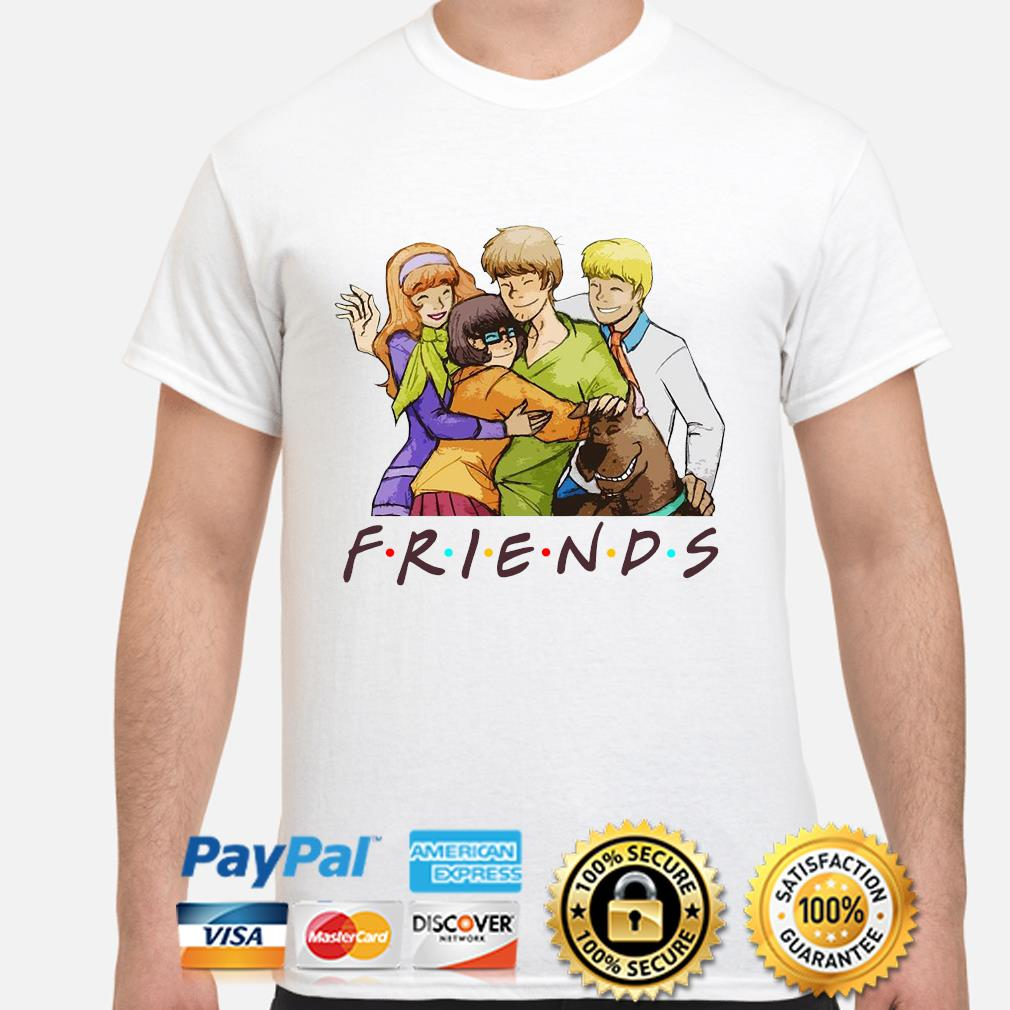 Scooby Doo Characters Friends shirt