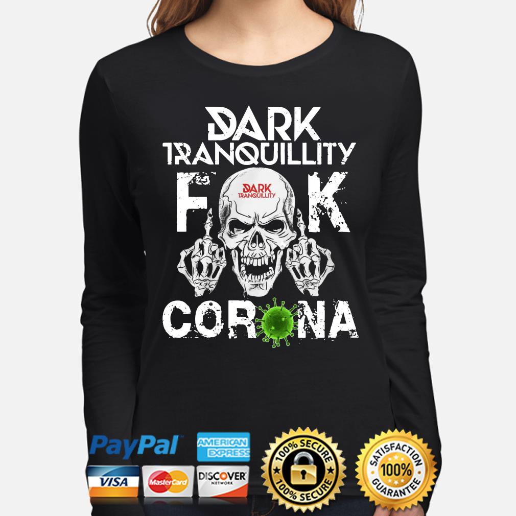 Dark Tranquillity Skull fuck corona s long-sleeve