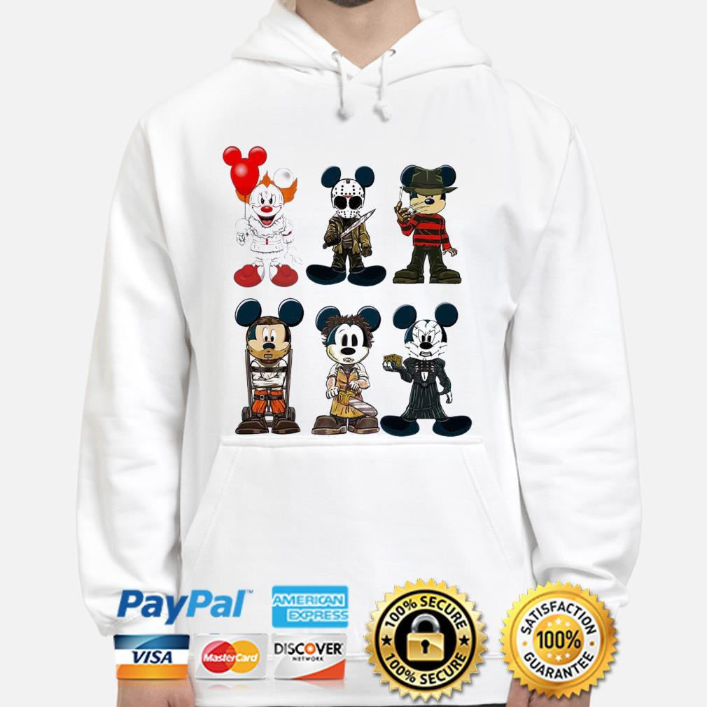 Disney Mickey Mouse style Horror character Halloween s hoodie