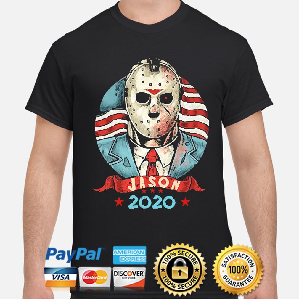 Jason Voorhees for President 2020 shirt