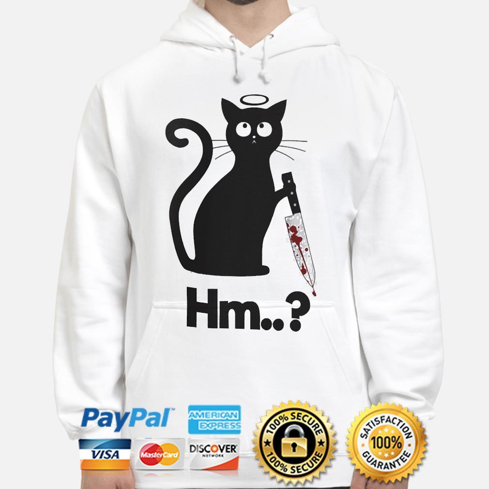 Michael Myers black Cat Hm s hoodie