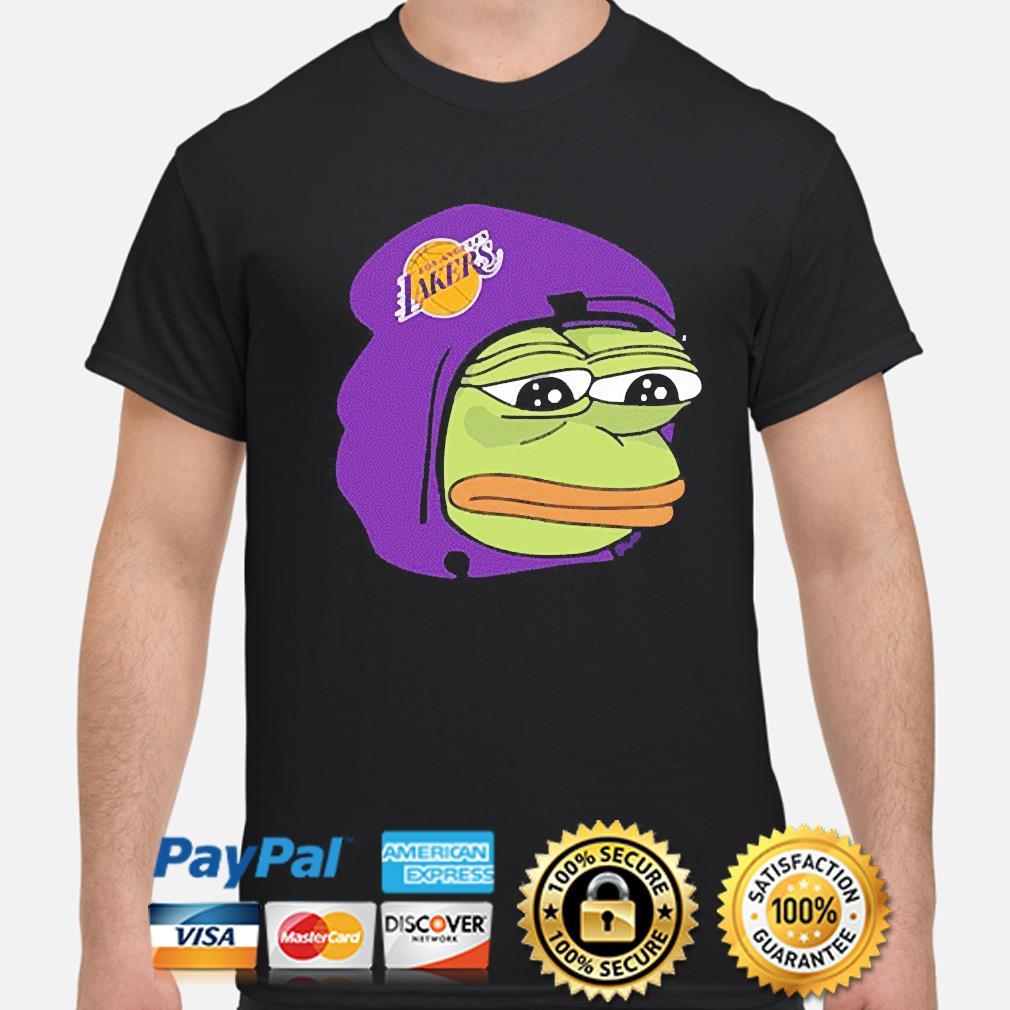 Pepe the frog Lakers 2021 shirt